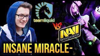 Other INSANE Perform From Miracle- Liquid vs Navi - Midas Mode Dota 2 [Game1]