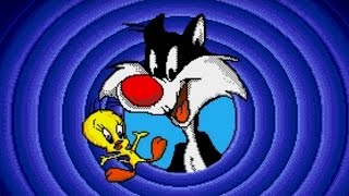 Sylvester and Tweety in Cagey Capers (Genesis) Playthrough - NintendoComplete