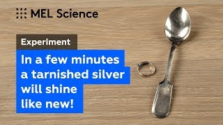 How to clean a tarnished silver in 15 minutes at home (DIY Experiment)