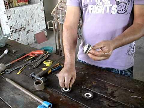 Como fabricar pistão e valvula de retenção