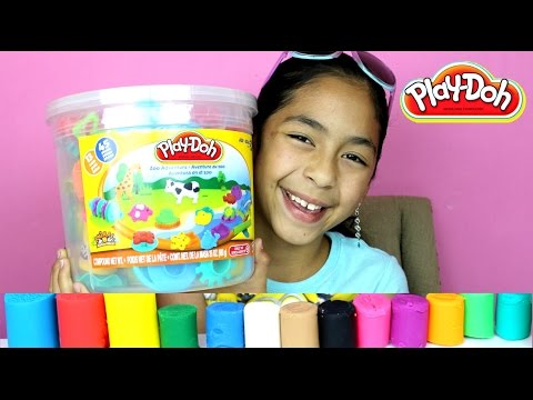 Tuesday Play Doh Huge Play Doh Bucket Adventure Zoo B2cutecupcakes