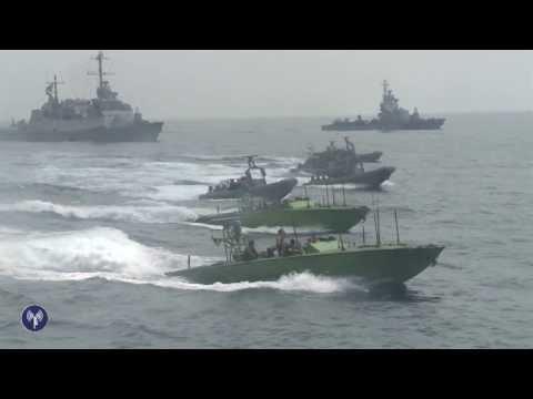 EXCLUSIF : les soldats de Tsahal prenant le contrôle du cargo