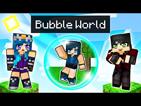 We re TRAPPED in a Minecraft Bubble
