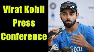 Virat Kohli address media ahead of India vs Australia Pune Test, Watch Video | Oneindia News