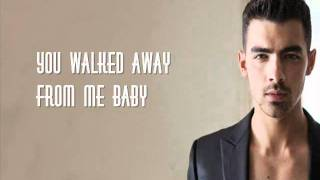 Joe Jonas - See No More (Karaoke/Instrumental) Lyrics