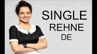 Single Rehne De Lyrics Video Song | Simran | Kangana Ranaut | Sachin-Jigar