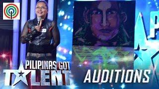Pilipinas Got Talent Season 5 Auditions: Odette Cagandahan - Speed Painter