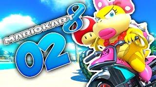 MEHR ONLINE CHAOS MIT ISA UND MALTE! 🌟 #02 • Let's Play Mario Kart 8 Online