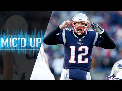 """Chargers vs. Patriots Mic d Up """"Stop throwing the ball so fast Tom AFC Divisional Round"""