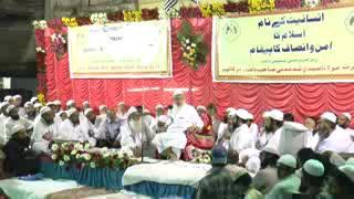 Maulana Arshad Madani President Jamiat Ulama i Hind 01/05/2015
