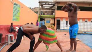 King kong mc dancing to Sembela By Skata Afrobeats 2015
