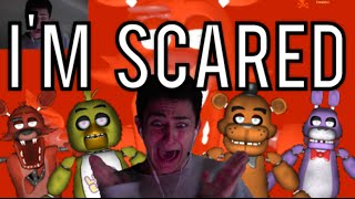SCARED SHITLESS BY A GAME?! - FIVE NIGHTS AT FREDDY'S