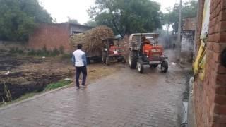 Tractor tochan heavy load