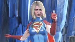 INJUSTICE 2 All Super Girl Intros, Clashes, Banter and Supermove