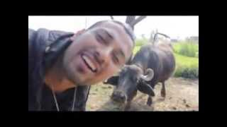 GARRY SANDHU │ NEW PUNJABI LATEST FUNNY VIDEO AT HIS VILLAGE 2014 HD