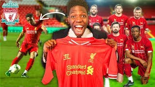 I Played For LIVERPOOL FC & Scored (CHAMPIONS LEAGUE FINAL 2019 FOOTBALL MATCH)