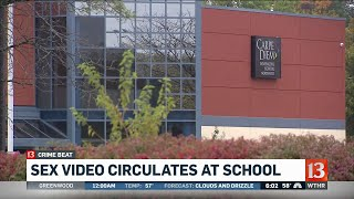Sex video circulates at school