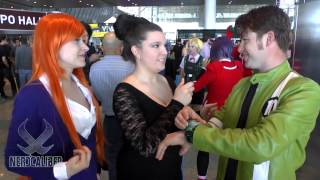 BEN 10 and GWEN Cosplays At PAX East 2014