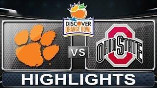 Clemson vs Ohio State | Orange Bowl | ACC Football Highlights