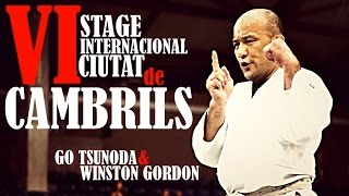 VI Stage Internacional Ciutat de Cambrils 2014 | Go Tsunoda & Winston Gordon
