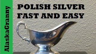 How To Polish Silver Fast and Easy