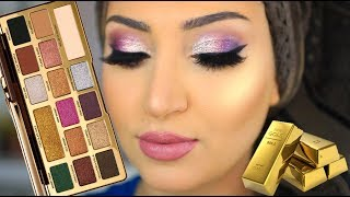 Too Faced Gold Chocolate Palette Tutorial