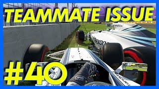 F1 2016 Career Mode : TEAMMATE ISSUES!! (Part 40)