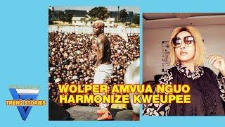 JAQUELINE WOLPER Amvua Nguo HARMONIZE na MZUNGU WAKE Atoa siri za ndani