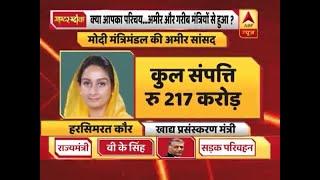 मोदी कैबिनेट में कितने अमीर मंत्री और कितने गरीब? देखिए