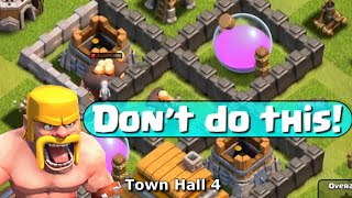 Clash of Clans Town Hall 4 Strategy - Let's Play Episode 3 - and More Free Gems!