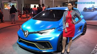 Electric vehicles in auto expo 2018