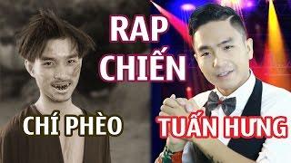Rap Chiến 1:  Tuấn Hưng vs Chí Phèo - TÙNG TÔM x CỦ TỎI x GIANG ĐẪM | GẤU