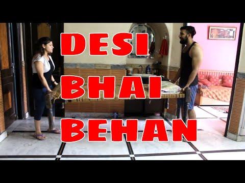 Desi bhai behan feat brother Thug life . || THE VINER FAMILY