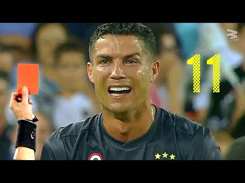 Xxx Mp4 Cristiano Ronaldo All 11 RED CARDS In Career 3gp Sex