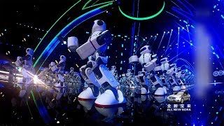 108 robots perform Chinese Kung Fu