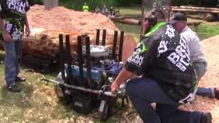 Extreme V8 Chainsaw Overload!