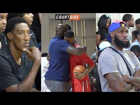 NBA Players Kids in ACTION Bronny James Shareef O Neal Cole Anthony Bol Bol and MORE