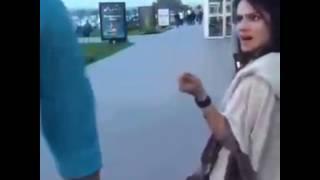 Whatsapp funny girl video