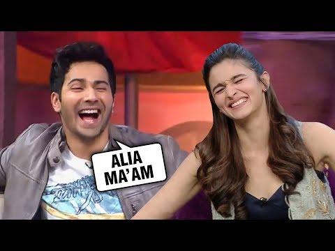 Xxx Mp4 Varun Dhawan Has A SPECIAL Name For Alia Bhatt Kalank 3gp Sex