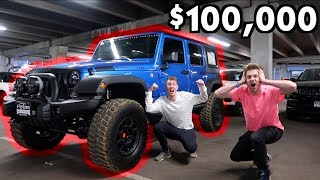 $100,000 AND THIS JEEP IS OURS!