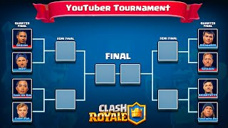 Clash Royale YouTuber Tournament  ♦ FULL VERSION ♦ EPIC Battles!