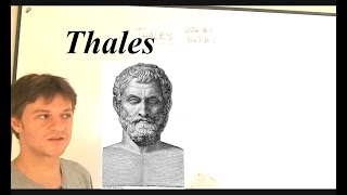 Philosophy 1 THALES