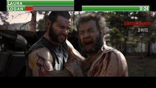 Logan vs X-24...with healthbars