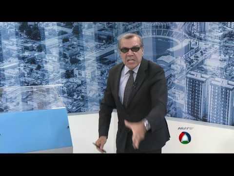 Bareta fica revoltado e perde o controle ao vivo na TV Atalaia