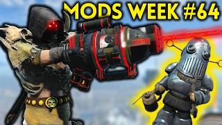 Fallout 4 TOP 5 MODS (PC & XBOX) Week #64 - ARM LASER, BREACHING, AK74M, WESTWORLD