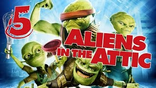 Aliens in the Attic Walkthrough Part 5 (PS2, Wii, PC) Movie Game - Level 05 -