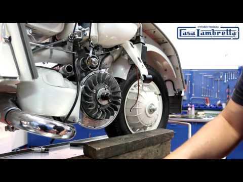 Lambretta Casatronic Ignition Fitting Guide English version