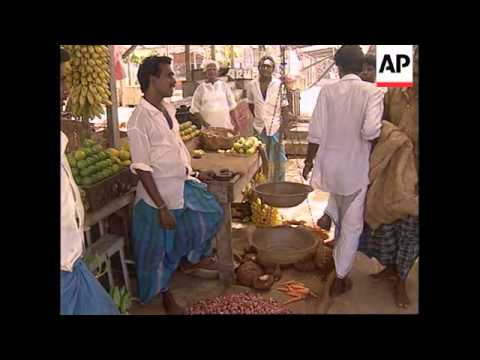 SRI LANKA: JAFFNA: FIGHTING CONTINUES AROUND TAMIL STRONGHOLD