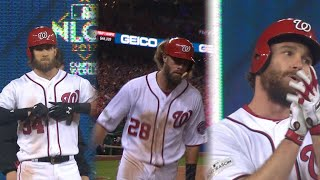 CHC@WSH Gm5: Nationals cut into deficit in the 6th