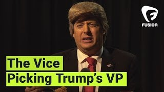 Donald Trump Picks VP On His New Reality TV Show